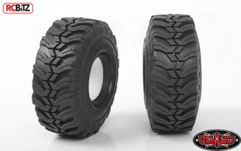 "RC4WD Interco Ground Hawg II 1.55"" Scale Tires Z-T0155 inc decal foams Tyre RC"