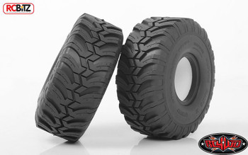 """RC4WD Interco Ground Hawg II 1.9"""" Scale Tires Z-T0156 decal foams Tyre RC SOFT"""