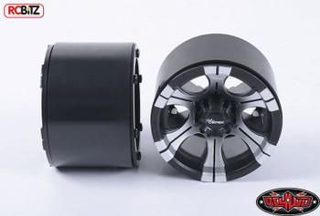 "RC4WD Dick Cepek DC-2 40 Series 3.8"" Internal Beadlock Plastic Wheels Z-W0186"