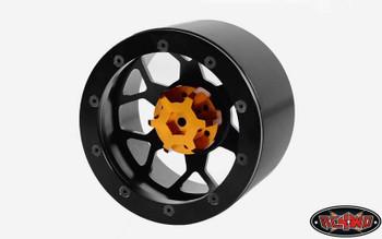 """Huntsman Spider 40 Series 3.8"""" Universal Beadlock Wheel Req Hex adaptor"""