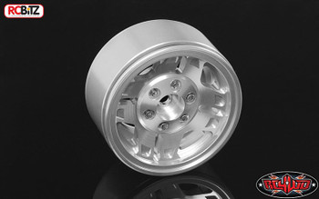 T-Runner Classic 1.9'' Aluminium Beadlock Wheels RC4WD Z-W0250 12mm Hex TF2