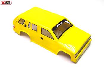 1/10 T-Finder Lexan Scale BODY 284mm WB inc Decal Window Mask RC4WD Z-B0009