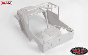 RC4WD Cruiser Main Body ONLY G2 Z-B0061 Hard Plastic FJ40 FJ 40 Grey RC Cab