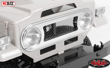 RC4WD Cruiser Chrome Accessories Parts Tree Light Buckets Grill Handle Z-B0075