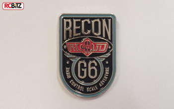 RC4WD Recon G6 LOGO Soft Enamel Pin Colour Badge Z-L0104 18x25mm Official G 6
