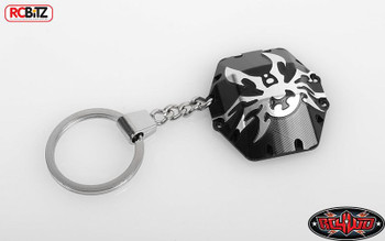 RC4WD Poison Spyder Bombshell Diff Cover KeyChain Key Ring Z-S0436 METAL