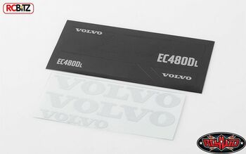 VOLVO Decal Sheet Set for 1/14 Earth Digger 360L RC4WD VVV-C0267 Excavator RC