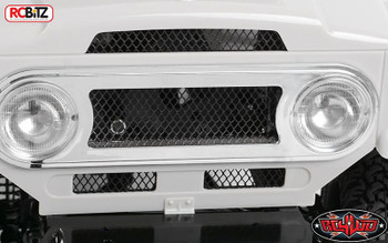 RC4WD Land Cruiser FJ40 Front Grill BLACK METAL Mesh Insert Z-B0081 rcBits RC