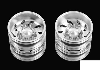 Force Directional Semi Rear Wheels w/ Spiked Caps RC4WD Z-W0148 Tamiya Lorry RC
