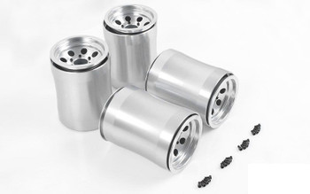 Demolisher Universal Wheels for Burnout 1/4 Scale Axle Z-W0197 LARGE WIDE RC