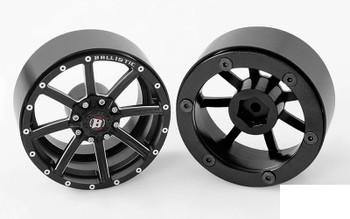 """RC4WD Ballistic Offroad Razorback 2.2"""" Beadlock Wheels Z-W0236 Narrrow 8 spoke"""