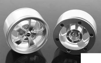 "RC4WD Mickey Thompson Street Comp SC-5 1.9"" Beadlock Wheels SILVER Z0W0238"