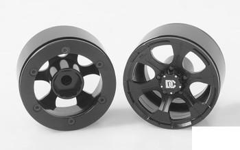 "RC4WD Dick Cepek Matrix 1.55"" Beadlock Wheels Z-W0247 BLACK 6 spoke Sticker"