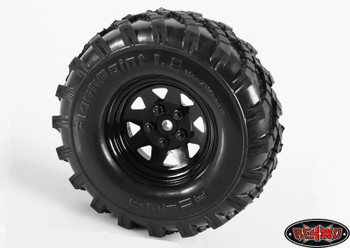 "Flashpoint Military Offroad 1.9"" Tyres RC4WD with Foams Great sand mud Z-T0082"