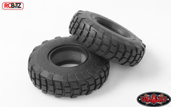"""Mud Plugger 1.9"""" Scale Truck crawler Tires RC4WD Narrow Military Style Tyre"""