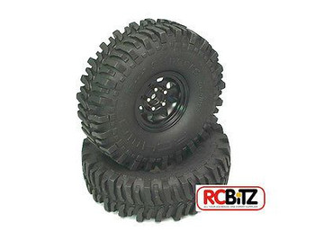 "Mud Slingers 1.55"" Scale Tyres (2) RC4WD with Foams tyre Z-T0006 Tire"