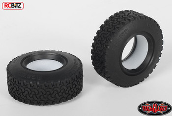 "Dirt Grabber 1.55"" Scale Tyres 2 RC4WD with Foams ALL TERRAIN tyre Z-T0021"