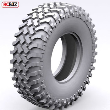 "Mud Thrashers 1.9"" Scale Tires RC4WD with Foams CLASS 1 Nice scale tread soft"