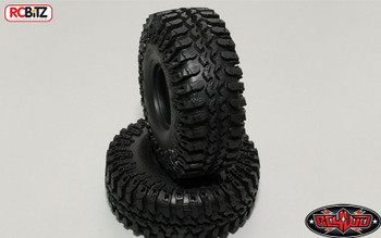 "Interco Irok 1.55"" Tyres (2) RC4WD with Foams Nice wide soft tyre Z-T0056 scaler"