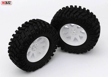 Prowler XS 1.9 Scale Tires scale tyre Aggressive Tread D90 Mojave TF2 Z-T0086