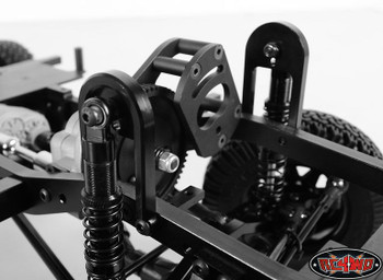 FRONT Shock Suspension Hoops Absorber Mounts Mounting Gelande II G2 METAL
