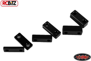 RC4WD Superlift Suspension Lift Block Set BLACk for Leaf springs TF2 Metal