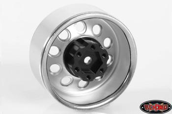 """RC4WD 1.9"""" 2.2"""" 6 Lug Steel Wheel Hex Hub +6 Offset OEM Fit Waggon Stamped Wheels"""
