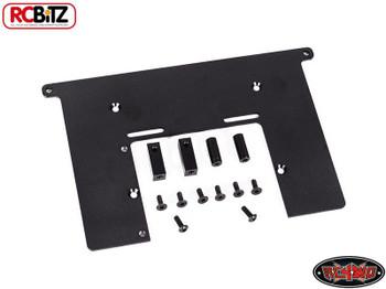 Electronics Top Plate Servo & Battery Mount Trail Finder II TF 2 METAL w/ Screws Tray