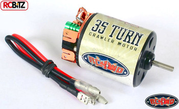 RC4WD Brushed 35T Boost Rebuildable Comp Crawler Motor with LEADS with Bullets