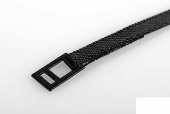 Tie Down Lashing Tough Strap BLACK with Metal Latch 400mm x 3.5mm rope