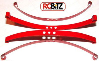 Red Super Soft Flex Leaf Springs 4 RC4WD Trail Finder Direct replacement Z-S0570