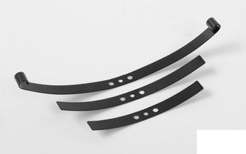 Soft Steel Leaf Spring for Trail Finder 2 BLACK 4 Sets 25% softer MORE Flex