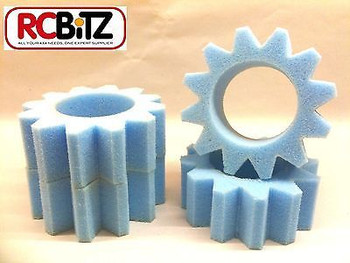 STAR CUT Foams Tyre Incerts 4 for 1.9 RC Wheels eg CC01 CC-01 Tamiya