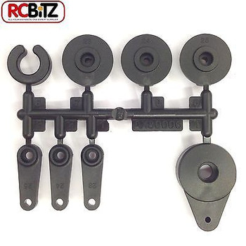 Axial SERVO SET saver horn for ALL Servos Savox Futaba Hitec 23 24 25 Honcho