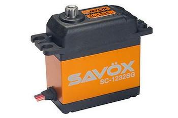 Savox SC1232SG High Torque Coreless Steel Gear Digital Scaler Servo 22KG 0.13sec