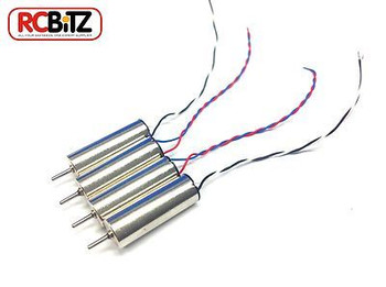 Hubsan X4 Micro Quadcopter Replacement MOTORS Motor H107-A03 Front or Rear OPTIN[Full SET (4)]