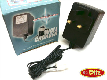 Wall AC Battery Charger 7.2v NIMh CONNECTOR CHOICE Fast charge UK or EU Plugs[UK Plug]