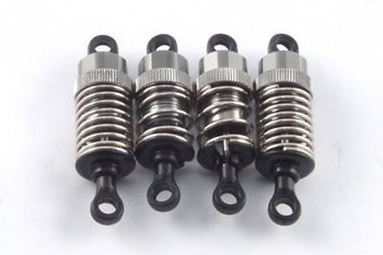 Carisma R14 Pro Adjustable Aluminium Shock set assembled & ready to fit CA14453
