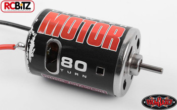 540 Crawler Brushed Motor by RC4WD 80T Z-E0001 Bullet Connectors TF2 G2 SCX10 RC