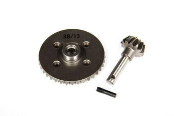 Axial SCX10 AX10 Heavy Duty Bevel gear Sets 36t14t AX30401 43t13t AX30402 38t13t[STANDARD 38t/13t AX30395]