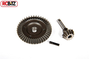 Axial SCX10 AX10 Heavy Duty Bevel gear Sets 36t14t AX30401 43t13t AX30402 38t13t[UNDERDRIVE 43t/13t AX30402]