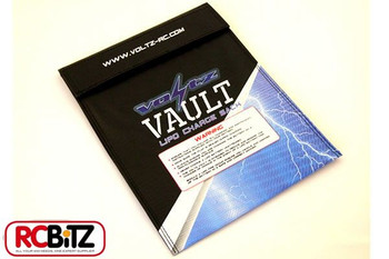 Voltz Vault LiPo Battery Charge Safety Sack pouch MUST HAVE Choose from 3 sizes[Large 23cm x 30cm VZ1000]