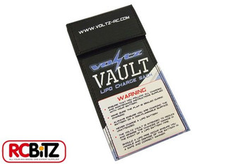Voltz Vault LiPo Battery Charge Safety Sack pouch MUST HAVE Choose from 3 sizes[Small 10cm x 20cm VZ1002]
