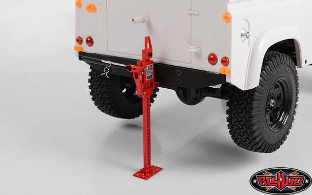 RC4WD WORKING 1/10 Hi-Lift Jack Scale TOY Functioning Hi Lift Decal Z-S1526 RC HiLift