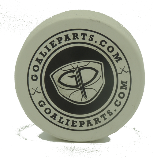 GoalieParts.com White Puck