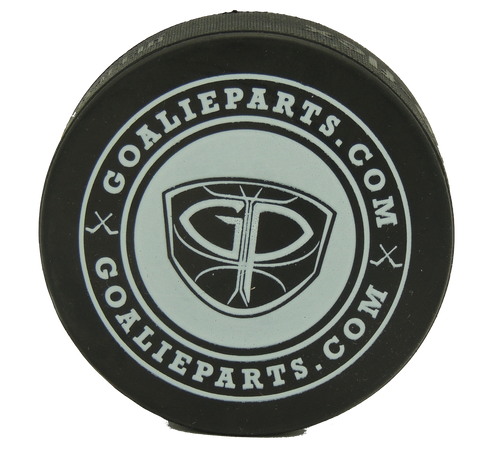 GoalieParts.com Black Puck