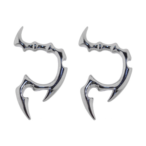 Pair of Cast Steel Tribal Taper Plug Pinchers Piercing BDPC108-Lex and Lu