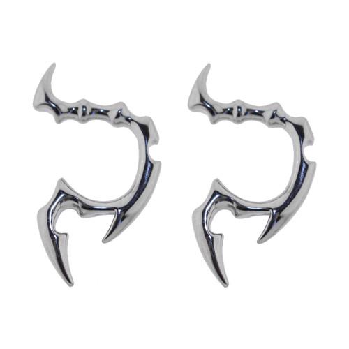 Lex & Lu Pair of Cast Steel Tribal Taper Plug Pinchers Piercing BDPC108-Lex & Lu