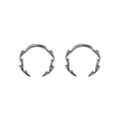 Pair of Cast Steel Tribal Taper Plug Pinchers Piercing BDPC102-Lex and Lu