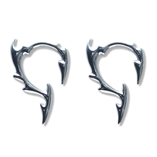 Lex & Lu Pair of Cast Steel Tribal Taper Plug Pinchers Piercing BDPC110-Lex & Lu